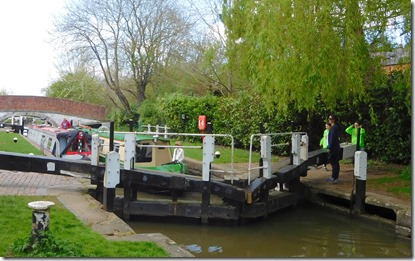 6 braunston top lock