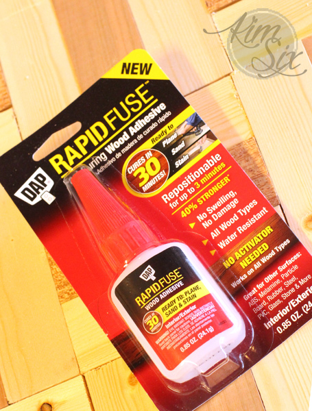 DAP Rapid Fuse Wood Adhesive