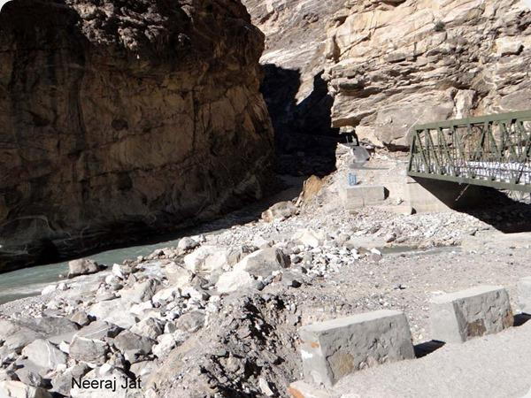 Sutlej Spiti confluence at Khab