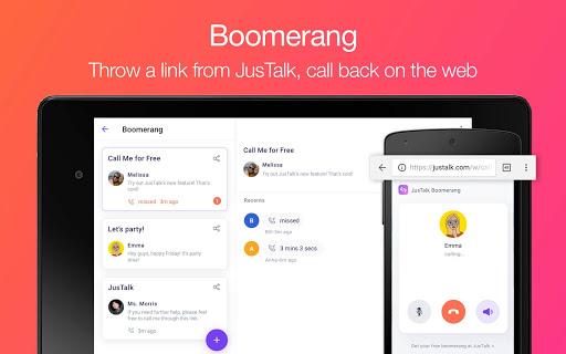 JusTalk - Free Video Calls and Fun Video Chat  screenshots 10