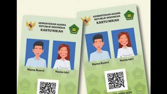 Kemenag Segera Luncurkan Kartu Nikah Digital, Ini Manfaatnya