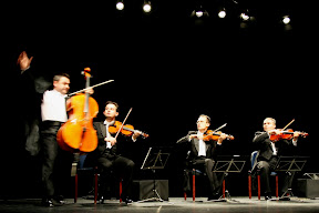 MozART group on stage