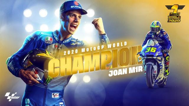 Klasemen Akhir MotoGP 2020: MotoGP, Moto2, dan Moto3