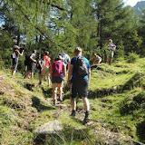 Wanderung Eisbruggsee im Pfunderertal 23.07.15 - Escursione al lago Ponte di Ghiaccio