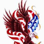 usa flag - Eagles Designs