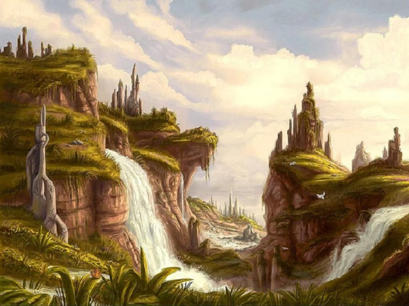 Great Green Land, Magical Landscapes 1