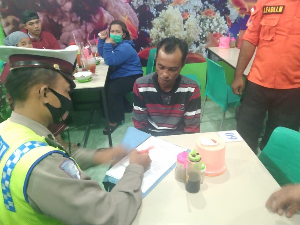 Tim Gabungan Kota Tanjungbalai Berikan Sanksi bagi Masyarakat yang Tak Pakai Masker