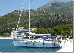 Croatia Cruising Companion - Slano Moorings