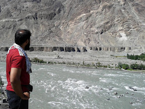 Looking towards Nomal valley. Gilgit