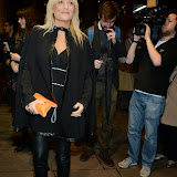 WWW.ENTSIMAGES.COM -     Gaby Roslin   arriving    at Dance Til Dawn - press night   Aldwych Theatre, London November 3rd 2014Strictly Come Dancing duo Flavia Cacace-Mistry and Vincent Simone  bring their new show inspired by the Golden Age of Hollywood to the West End for a limited ten week run.                                                    Photo Mobis Photos/OIC 0203 174 1069