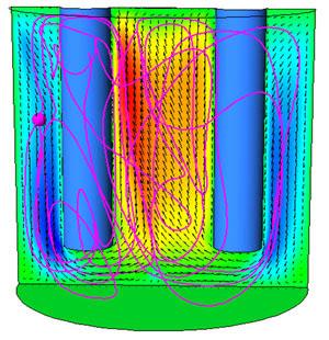Магнитогидродинамика. electromagnetics@cfx Движение жидкости