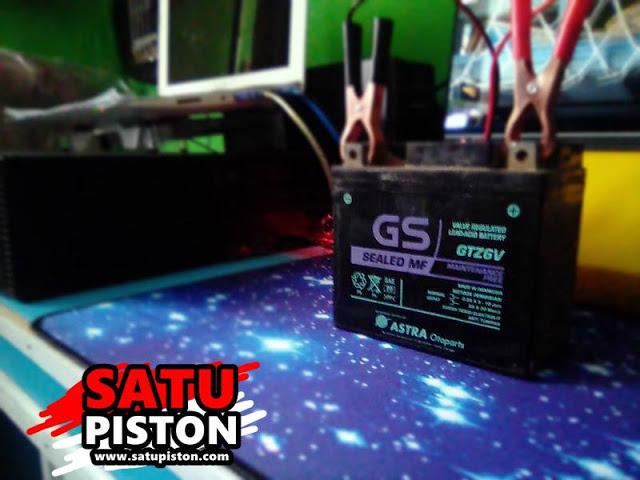 Aki GS GTZ6V Untuk Motor Apa ??? Ini Jawabannya !!