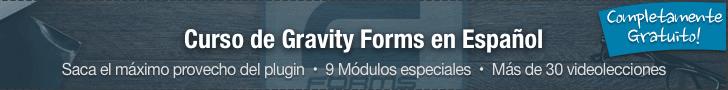 Curso de Gravity Forms en Español