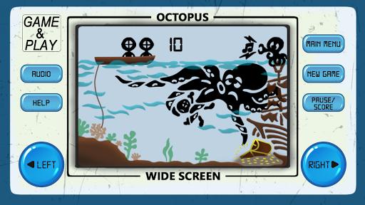 OCTOPUS 80s Arcade Games  captures d'écran 2