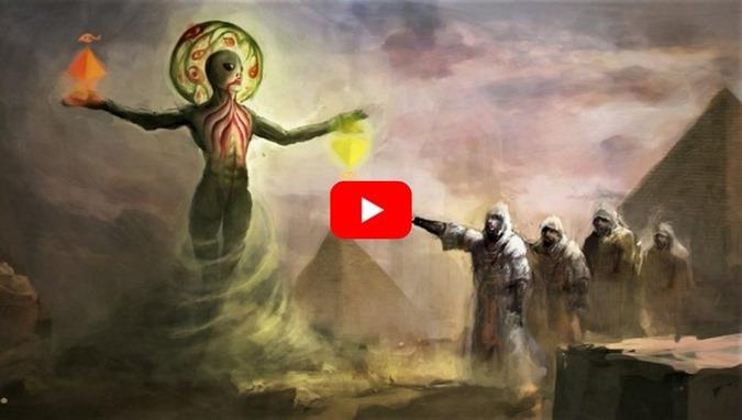múmia extraterrestre descoberta no Egito