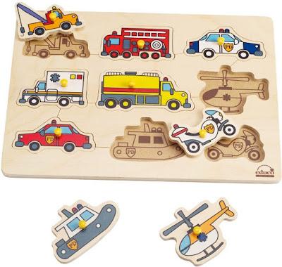 Bộ ghép hình các Phương tiện Khẩn cấp Hape