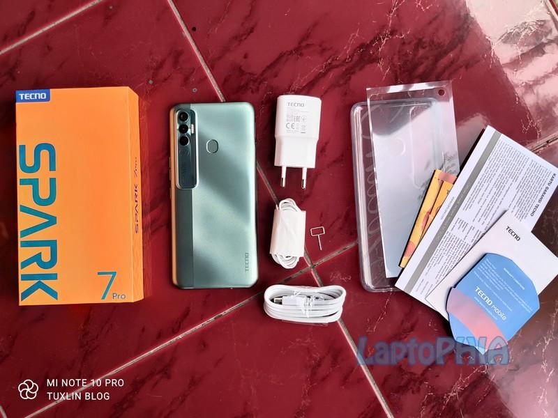 Paket Pembelian Tecno Spark 7 Pro