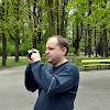 04-05-2013 | Warszawa | Kamerzysta Rafał w Parku Saskim