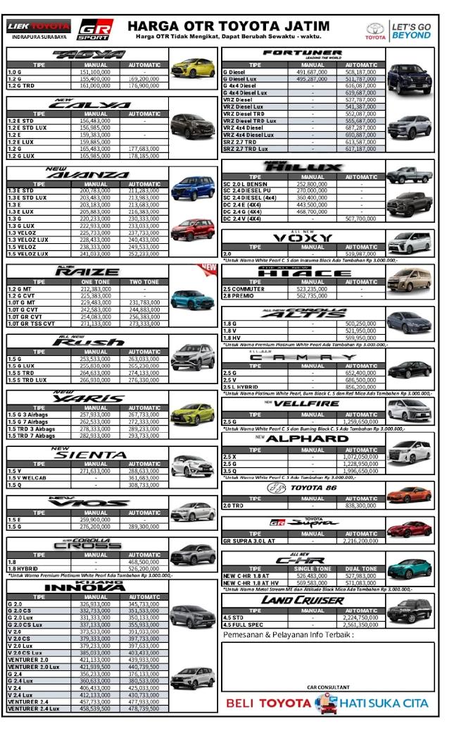 Sedang ada program tukar tambah semua merk ke toyota baru. Promo Dealer Toyota Mobil Baru Harga Terbaik Surabaya | Harga Toyota: Agya, Calya, Avanza ...