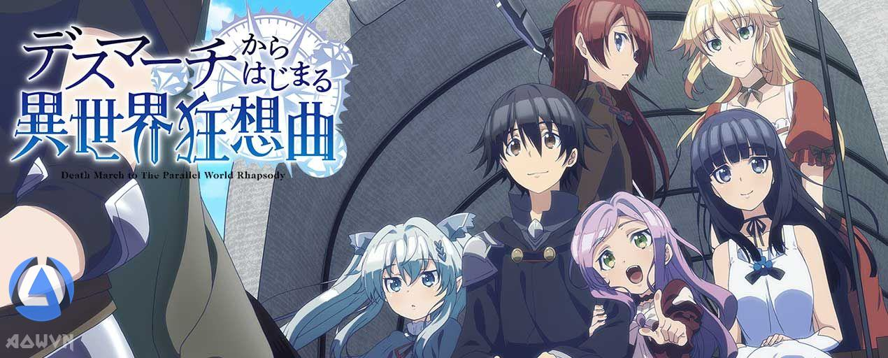 BSjrupu - [ Anime 3gp Mp4 ] Death March kara Hajimaru Isekai Kyousoukyoku | Vietsub - Hấp dẫn