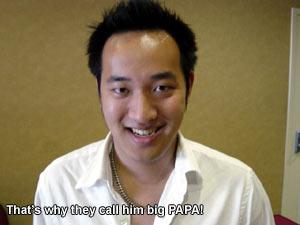 Pick Up Artist Papa Al08, Papa