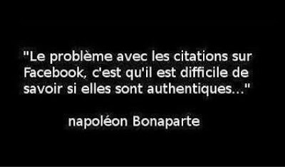 citation, mercredi, happy journal, facebook, napoleon