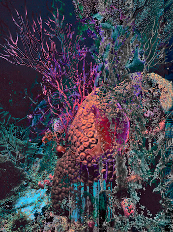 """The """"Coral Reef"""" piece from the """"2013"""" collection"""