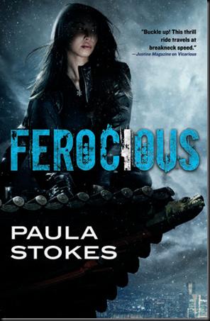 Ferocious (Vicarious #2) by Paula Stokes