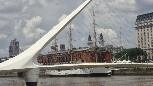 Puente de la Mujer, Puerto Madero, Buenos Aires, Argentina, Elisa N, Blog de Viajes, Lifestyle, Travel
