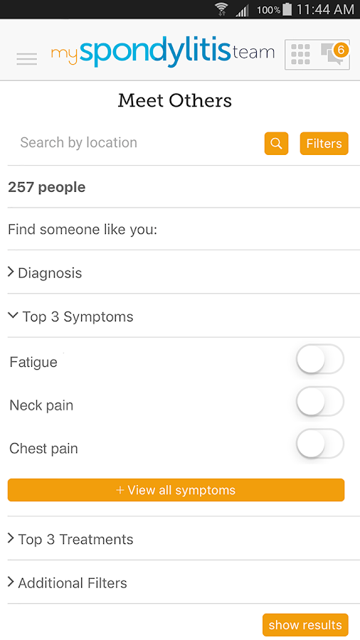 Spondylitis Support- screenshot