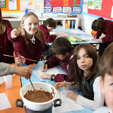Year 4 Chocolate Painting