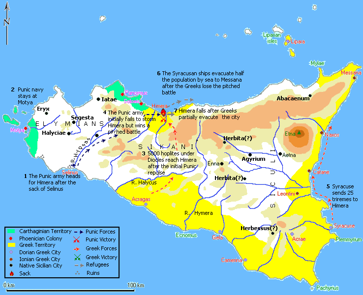 Greek History and Prehistory: Guerre Greco-Puniche.