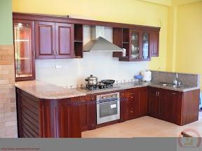 Tủ bếp gỗ tự nhiên BESM0117