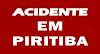 Piritiba: fotógrafo fica ferido em acidente de moto; Veja mais: