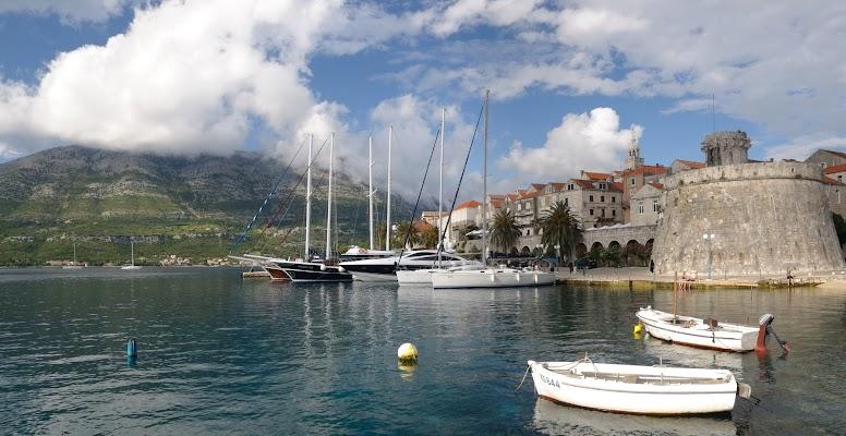 Die Altstadt von Korčula