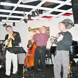 The monthly Jazz Jam at the Unique Cafe brought out a great group of music lovers and musicians.