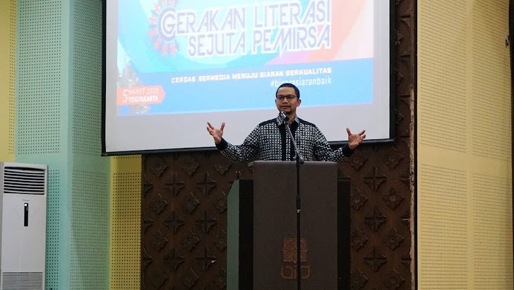 Hanafi Rais : Gerakan Literasi Efektif Pengaruhi Kualitas Siaran