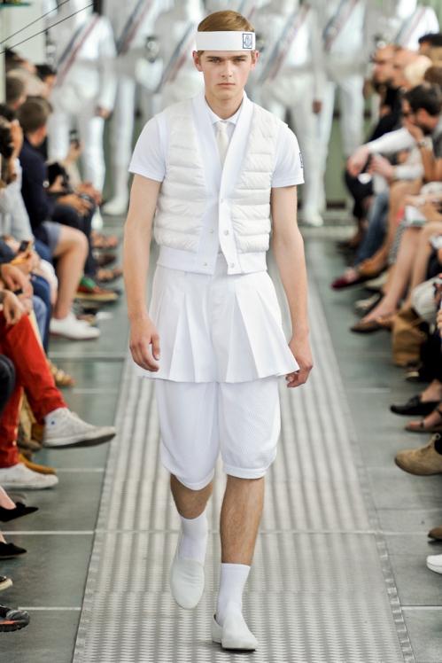 Moncler Gamme Bleu SS12 Menswear Show  Homotography