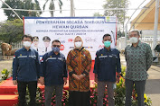Bupati Karawang Terima Hewan Kurban PT Jawa Satu Power dan EPC