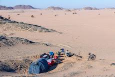 Prime camp spot in the Sahara