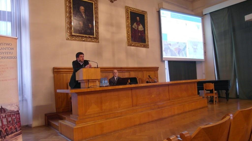 Konferencja Metody geofizyczne w archeologii polskiej (fot. J. Karmowski, K. Kiersnowski) - geof%2B%252826%2529.JPG