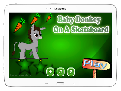 Baby Donkey On A Skateboard screenshot 16