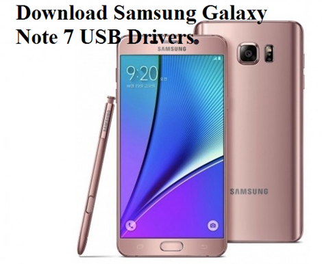usb drivers for galaxy note 5