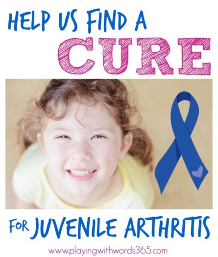 An Incredible SLP Blogger Searching For a Cure for JA and Your Chance to Give Back image