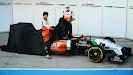 Sergio Perez & Nico Hulkenberg Force India F1 VJM07