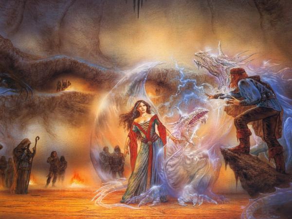 White Dragons Magic, Dragons