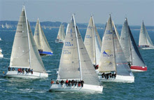 J109 sailing SPI Ouest France regatta