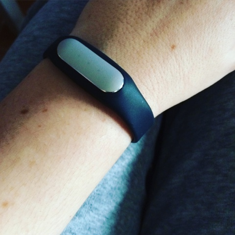 pulsera xiaomi mi band color negro
