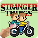Stranger Things : Best Pixel Art - Color By Number icon