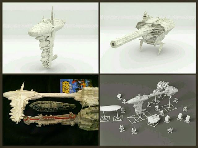 Fragata médica de Mel Miniatures